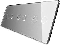 Лицевая панель для выключателя Livolo BB-C7-C2/C2/C2-15 (серый) -