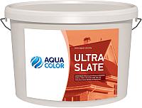 Краска AquaColor Ultra Slate (13кг, красно-коричневый) -