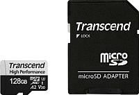 Карта памяти Transcend microSDXC 330S Class 10 128GB + адаптер (TS128GUSD330S) -