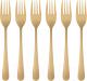 Набор десертных вилок Maku Kitchen Life Matt Gold 310546 -