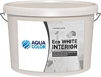 Краска AquaColor Eco White Interior (13кг) -