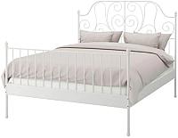 Двуспальная кровать Ikea Лейрвик 892.773.06 -