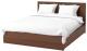 Двуспальная кровать Ikea Мальм 992.108.91 -
