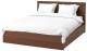 Двуспальная кровать Ikea Мальм 592.108.93 -