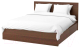 Двуспальная кровать Ikea Мальм 392.108.94 -