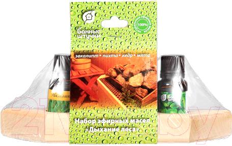 Купить Набор эфирных масел Банные Штучки, Дыхание леса / 32156, Китай