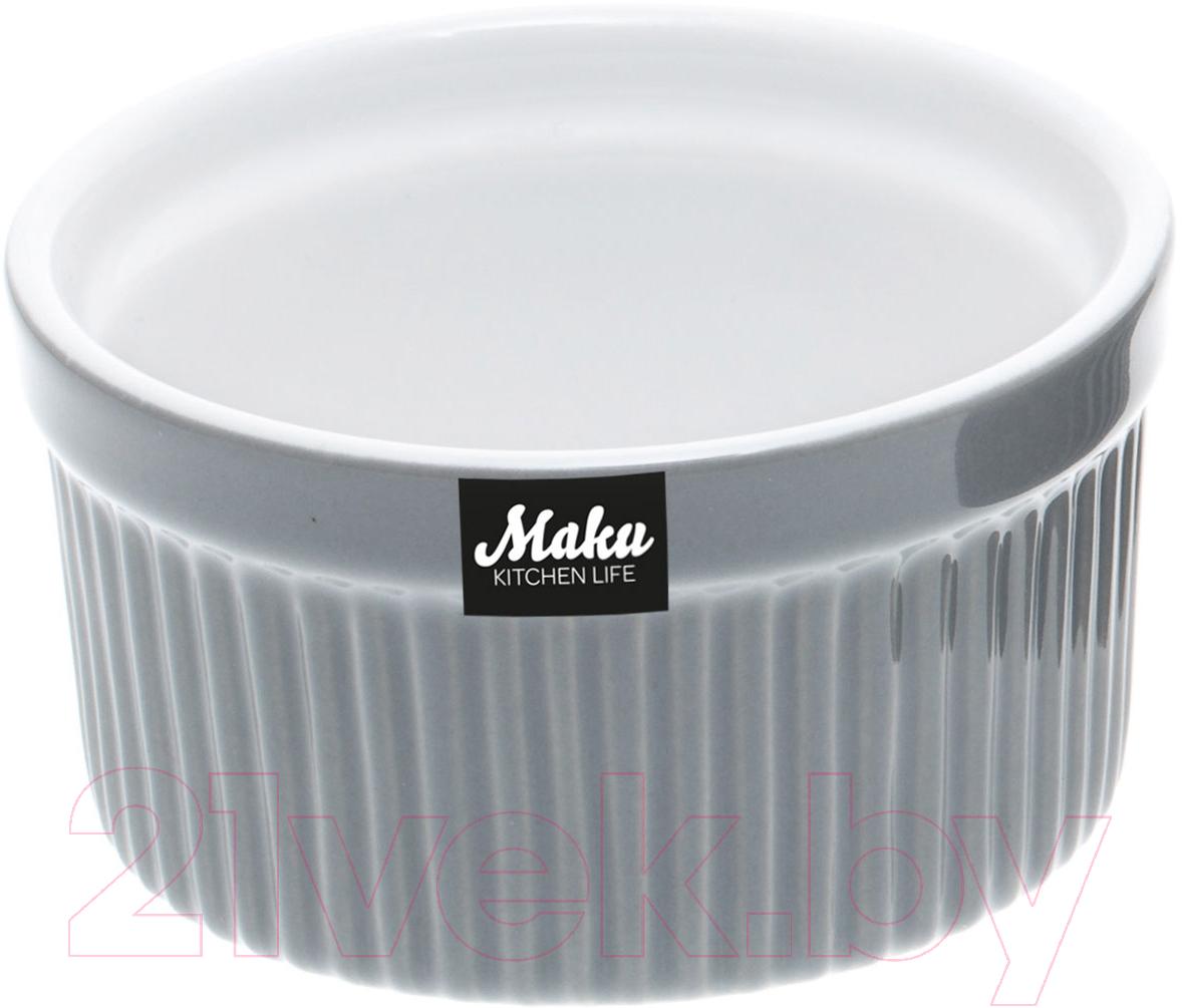 Купить Кокотница Maku Kitchen Life, 2705601 (серый), Китай, керамика
