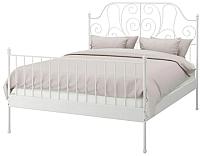 Двуспальная кровать Ikea Лейрвик 492.772.85 -