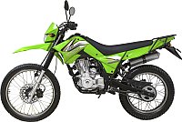 Мотоцикл Lifan LF200GY-3B (зеленый) -