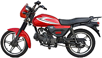 Мотоцикл ЗиД City YX-125-15 (красный) -