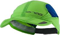 Кепка для триатлона Orca Складная HVAZ (S/M, синий/зеленый) -