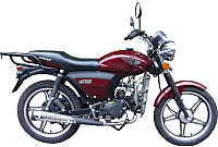 Мотоцикл Racer Trophy RC110N (черный) -