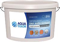 Лак универсальный AquaColor Акриловый (2кг, полуматовый) -