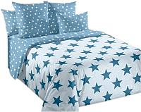 Комплект постельного белья Моё бельё Орион (бирюза) -