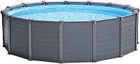 Каркасный бассейн Intex Graphite Gray Panel 26384 (478x124) -