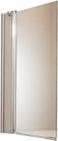 Стеклянная шторка для ванны Huppe Design Pure 8P2001-055-321 (прозрачное стекло) -