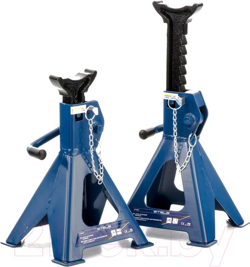 Купить Домкрат механический Stels, 51621 (2шт), Китай