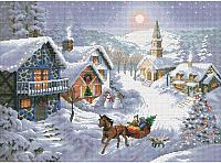Набор для вышивания БЕЛОСНЕЖКА Зимнее Раздолье / 1386-14 -