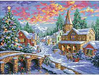 Набор для вышивания БЕЛОСНЕЖКА Рождественская ночь / 2289-14 -