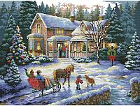 Набор для вышивания БЕЛОСНЕЖКА Встреча рождества / 4145-14 -