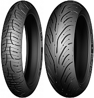 Мотошина задняя Michelin Pilot Road 4 180/55R17 73W TL -