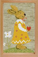 Набор для вышивания БЕЛОСНЕЖКА Девочка Заинька / 206-EF -