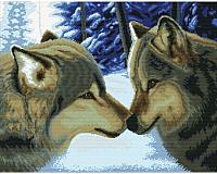 Набор для вышивания БЕЛОСНЕЖКА Два волка / 7560-РК -
