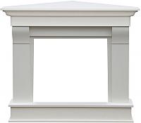 Портал для камина Смолком Albion Corner V23 (белый/ваниль) -
