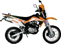 Мотоцикл Racer Enduro RC200GY-C2 (оранжевый) -