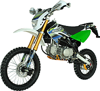 Мотоцикл кроссовый Racer Pitbike RC160-PH Pro (зеленый) -