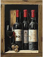 Картина по номерам БЕЛОСНЕЖКА Коллекционное вино / 307-AS -