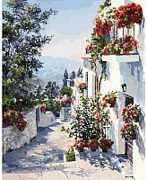 Картина по номерам БЕЛОСНЕЖКА На юге Испании / 122-AB -