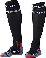 Носки для триатлона Orca Comppession Comp / AVA4 (S, черный) -