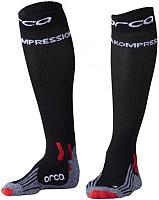Носки для триатлона Orca Comppession Comp Race / AVAU (L, черный) -