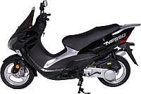 Скутер Moto-Italy Nesso 125 (черный) -