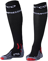 Носки для триатлона Orca Comppession Comp Race / AVAU (M, черный) -