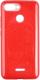 Чехол-накладка Case Brilliant Paper для Redmi 6 (красный) -