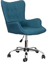 Кресло офисное Седия Bella (синий) -