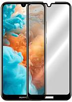 Защитное стекло для телефона Case Full Glue для Y6 2019 (черный глянец) -