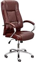 Кресло офисное Седия King A Eco (темно-коричневый) -