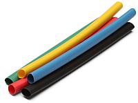 Трубка термоусаживаемая КВТ ТНТ НГ-6/3 / 72399 (желтый) -