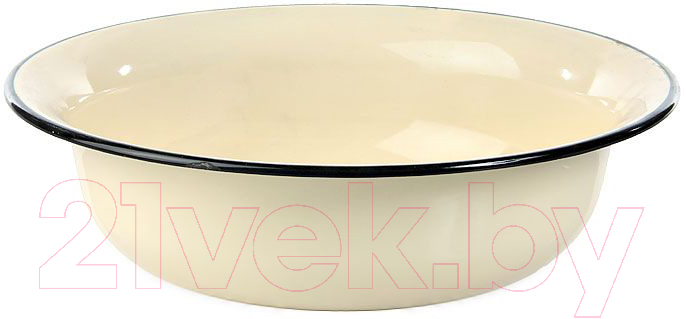 Купить Миска Лысьвенские эмали, С-0314/Км, Россия, белый, нержавеющая сталь