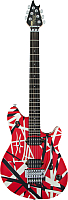 Электрогитара EVH Wolfgang Special Red w/ Black and White Stripes Ebony FB -