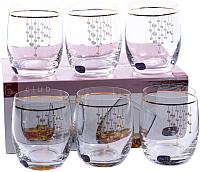 Набор стаканов Bohemia Crystal Club 25180/Q9104/300 (6шт) -