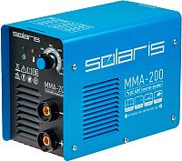 Инвертор сварочный Solaris MMA-200 -