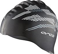Шапочка для плавания Orca Silicone / AVA1 (черный) -
