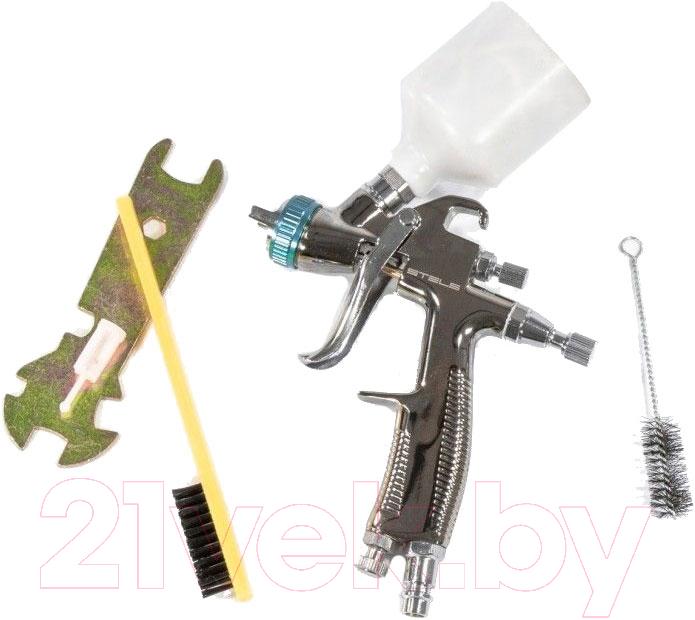Купить Пневматический краскопульт Stels, AG 970 LVLP / 57369, Китай