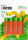 Комплект аккумуляторов Mirex HR6 2500mAh / HR6-25-E4 (4шт) -