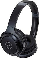 Наушники-гарнитура Audio-Technica ATH-S200BT (черный) -
