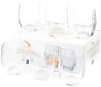 Набор стаканов Bohemia Crystal Waterfall 25180/22/300 (6шт) -